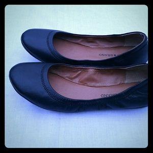 Lucky Brand Black Flats Size 9M- NWOB